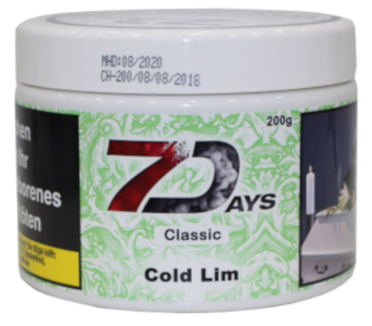 7 Days Classic - Cold Lime - 200g