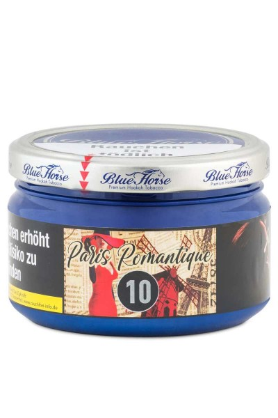 Blue Horse Tabak Paris Romantique 10 - 200g
