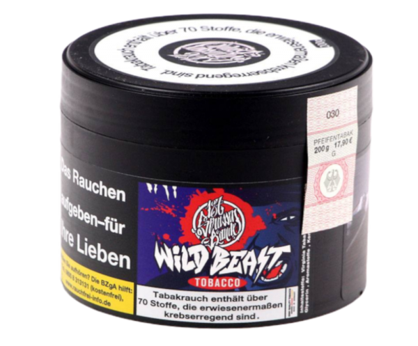 187 Tobacco #009 Wild Beast 200g