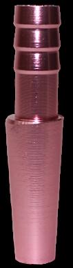 Schlauch-Anschlussstück (Alu) - Pink