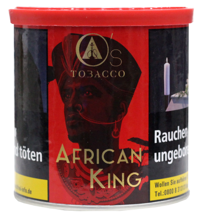 O's Tobacco Red African King - 200g