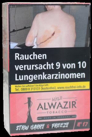 ALWAZIR Tobacco Strw Barry & Frezzy N17 - 50g