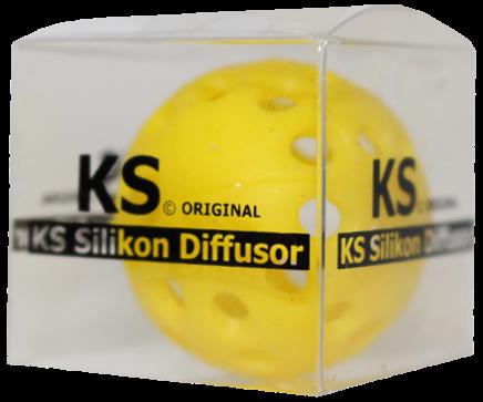 KS Original - Silikondiffusor - Rund - Gelb