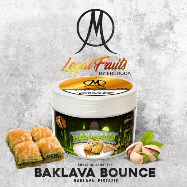 Legal Fruit Tabak BAKLAVA BOUNCE 200g