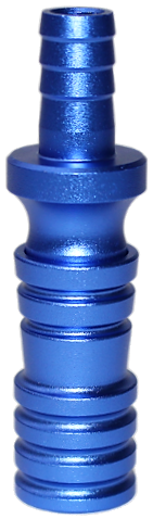 SKS Shisha King - Schlauchadapter - Blau