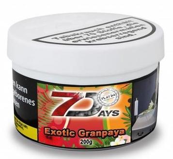 7 Days Platin - Exotic Granpaya - 200g