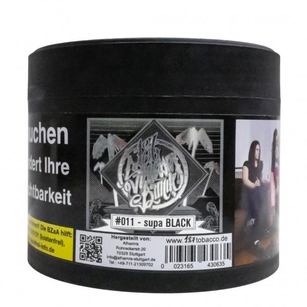 187 Tobacco Supa Black - 200g