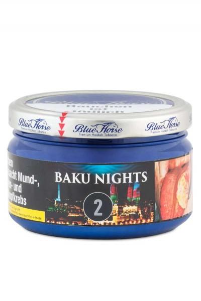 Blue Horse Tabak BAKU NIGHTS 2 - 200g