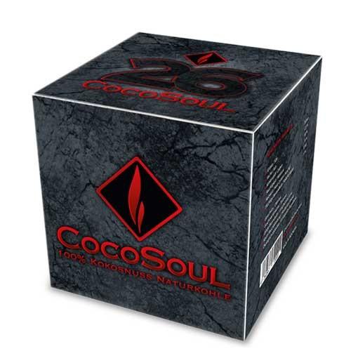 CocoSoul® – 26er – Naturkohle Cubes aus Kokonussschalen – 1 kg