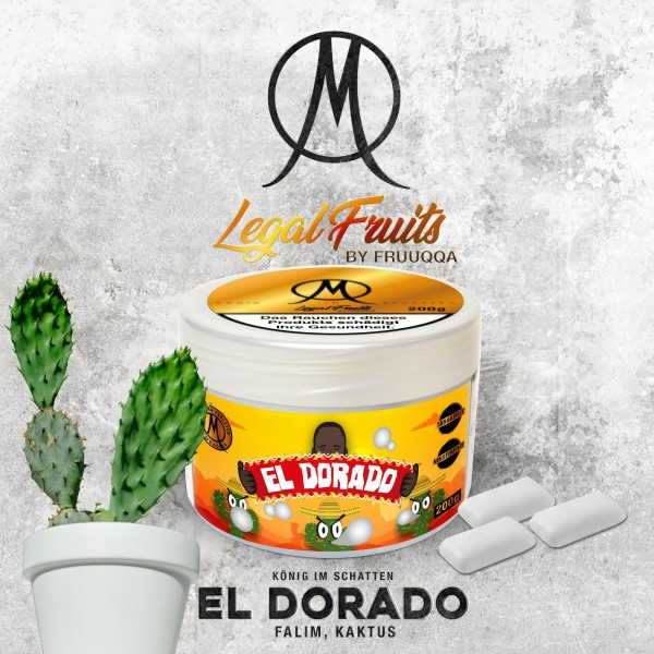 Legal Fruit Tabak EL DORADO 200g