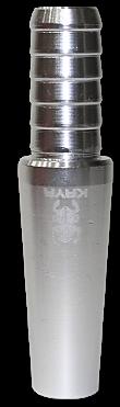 Kaya - Schlauchanschluss 3.0 - Silber