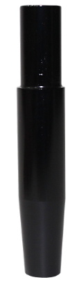 Schlauch-Anschlussstück (Alu) - Schwarz