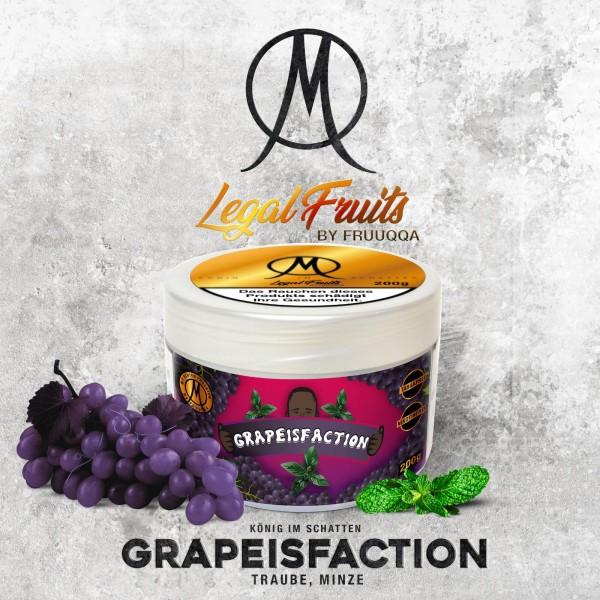 Legal Fruit Tabak GRAPEISFACTION 200g