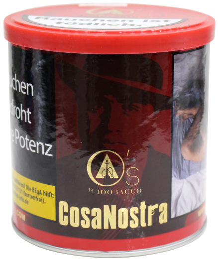 O's Tobacco Red - Cosanostra - 200g