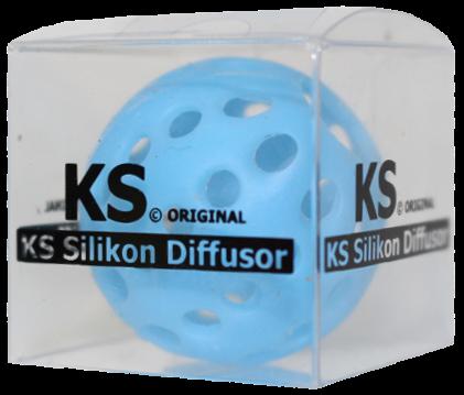 KS Original - Silikondiffusor - Rund - Hellblau