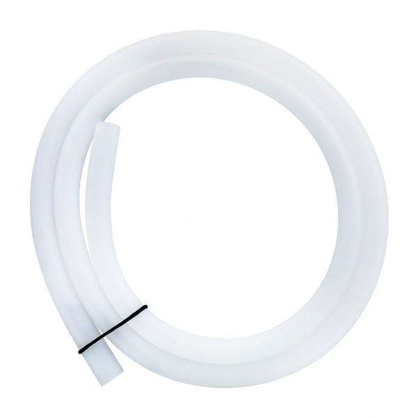 Durchsichtiger Shisha Silikonschlauch Weiß