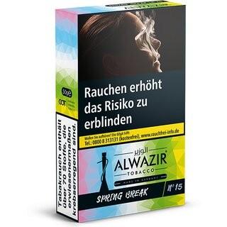 ALWAZIR Tobacco SPRING BREAK N15 - 50g