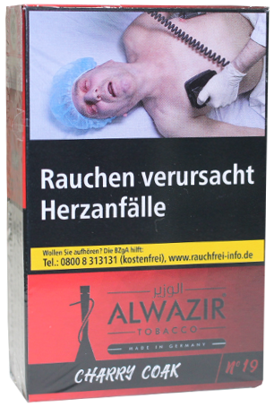 ALWAZIR Tobacco Charry Coak - 50g