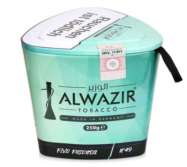 ALWAZIR Tobacco FIVE FRIENDS N49- 250g