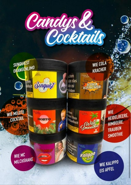 Candys & Cocktails Wild Smoothie 200g