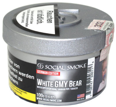 SOCIAL SMOKE - WHITE GMY BEAR - 100g
