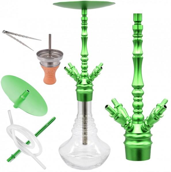 SKS Shisha King - Matrix - Grün - Komplettset