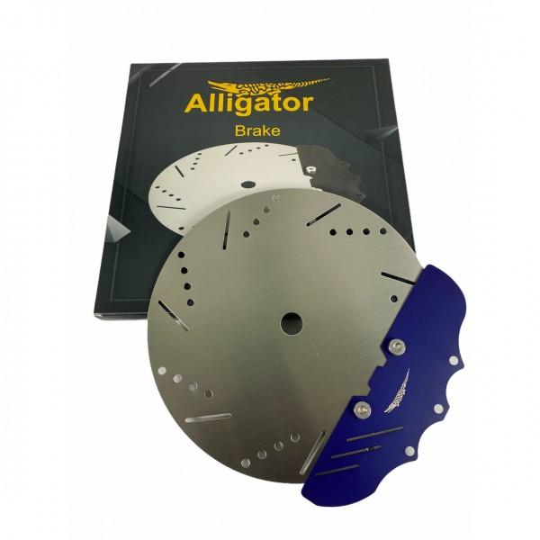 Alligator Brake Kohleteller - Grün/Rot/Schwarz/Blau