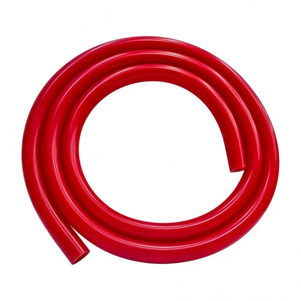 Shisha Silikonschlauch Glanz Rot