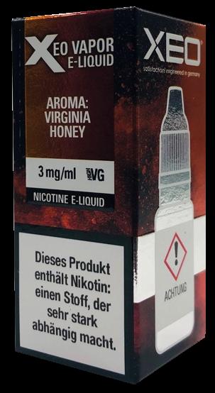 Xeo - Virginia Honey 3mg - 10ml