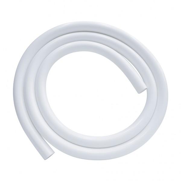 Shisha Silikonschlauch Glanz Weiß