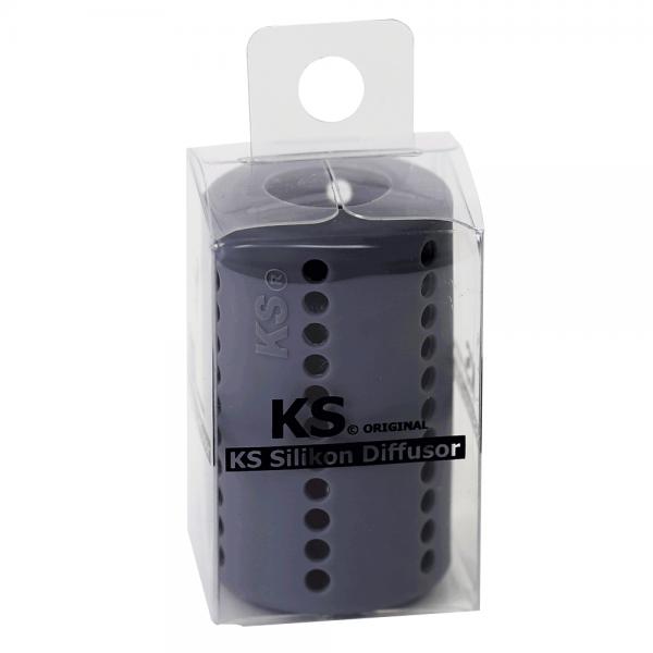 KS Original Silikondiffusor Tube Grau