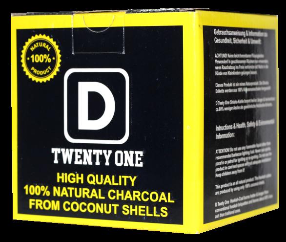 Twenty One - Naturkohle - 1kg