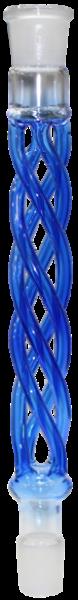 Kaya - Rauchsäule - Curly Glas - Blau - 29/2