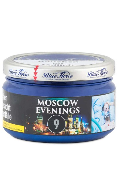 Blue Horse Tabak MOSCOW EVENINGS 9 - 200g