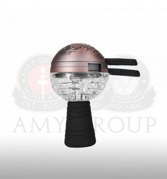 AMY Deluxe - GlasSi Globe - Set (Silber)
