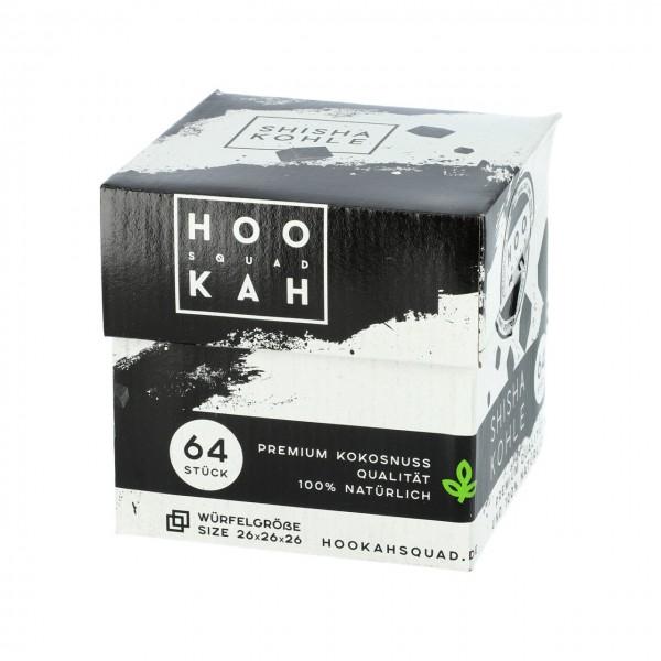 Hookah SQUAD Naturkohle 1Kg