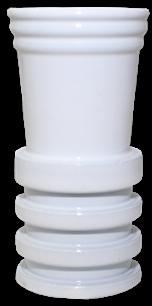 Schlauchadapter Universal - Weiß