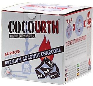 COCOURTH - 1kg - Naturkohle