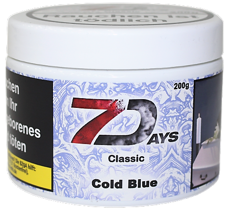 7 Days Classic - Cold Blue - 200g
