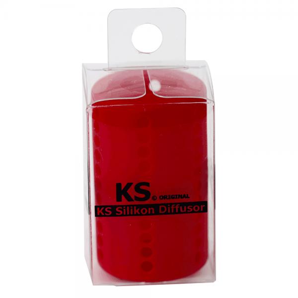 KS Original - Silikondiffusor Tube - Rot