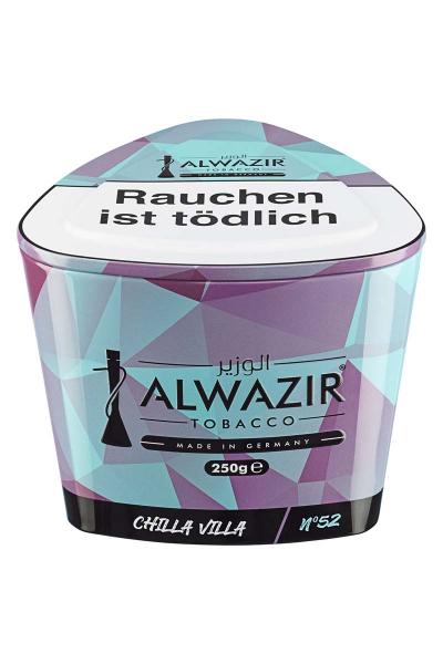 ALWAZIR Tobacco CHILLA VILLA N52 250g