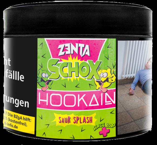 Hookain Tobacco Zenta Schox Saur Splash 200g