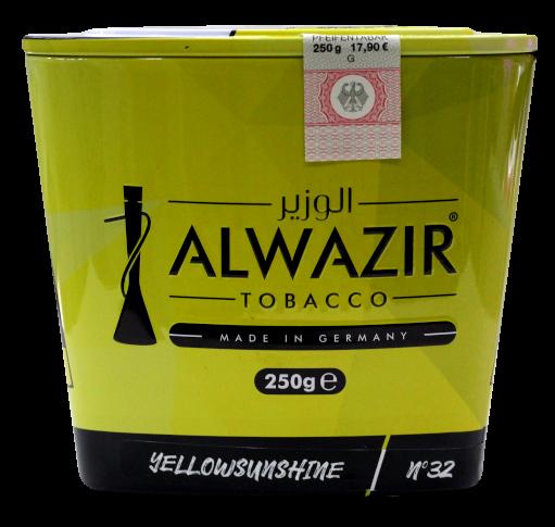 ALWAZIR Tobacco Yellow Sunshine - 250g