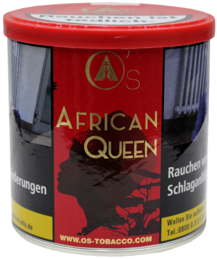 O's Tobacco Red African Queen - 200g