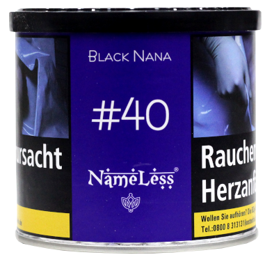 Nameless Tobacco - #040 Black Nana - 200g