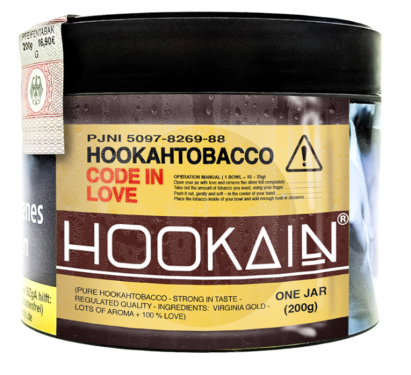 Hookain Tobacco Code in Love 200g