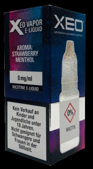 Xeo - Strawberry Menthol - 10ml