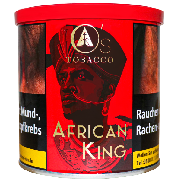 O's Tobacco Red African King 200g