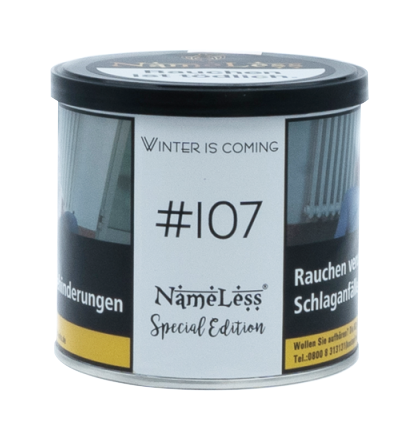 Nameless Tobacco #107 Winter is coming - 200g