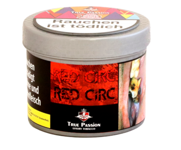 True Passion Red Circ 200g